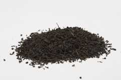 Heap of black tea Royalty Free Stock Photography