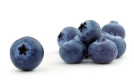 Heap of blueberries Stock Image