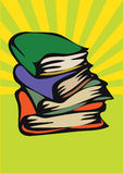Heap of the books Royalty Free Stock Image