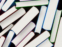 Heap of books in a hard cover Royalty Free Stock Photography