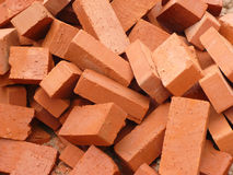 Heap of brick Royalty Free Stock Photography