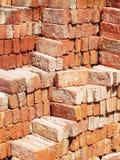 Heap of  brick Royalty Free Stock Photo