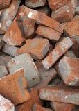 Heap of bricks Stock Photo