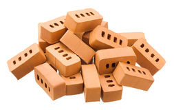 Heap of bricks Royalty Free Stock Image