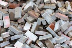 Heap of Bricks Stock Photos