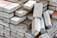 Heap of Bricks Royalty Free Stock Photos
