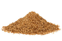 Heap of brown coconut palm sugar Stock Photos