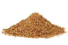 Heap of brown coconut palm sugar Stock Photos