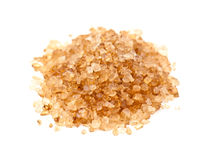 Heap of brown salt Royalty Free Stock Images