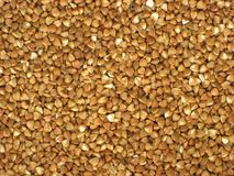 Heap buckwheat Stock Image