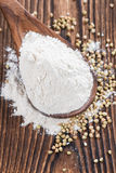 Heap of Buckwheat Flour Royalty Free Stock Photo