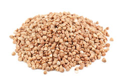 Heap of buckwheat Stock Photography