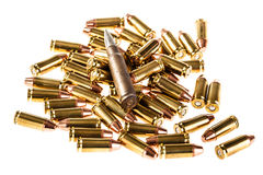 Heap of bullets Royalty Free Stock Photo