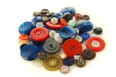 Heap of the buttons Royalty Free Stock Images