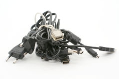 Heap of cables Stock Images