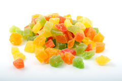 Heap of candied fruit Royalty Free Stock Photography