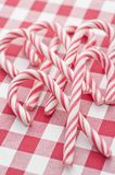 Heap of Candy Canes Stock Photo