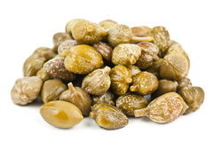 Heap of capers Royalty Free Stock Photo