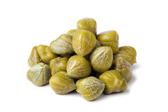 Heap of capers Stock Photos