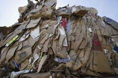Heap Of Cardboard Boxes Royalty Free Stock Photography