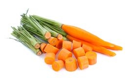 A heap of carrots Stock Image