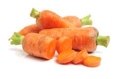 Heap of carrots Stock Photo