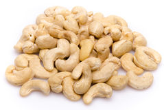 Heap of cashew nuts Royalty Free Stock Photos