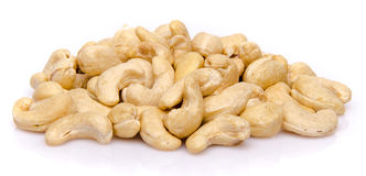 Heap of cashew nuts Stock Photos