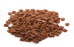 Heap of cat food Stock Images