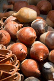 Heap of ceramic jugs Royalty Free Stock Photography