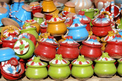 Heap of ceramic pots in Bagan Royalty Free Stock Photography