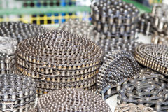 Heap of chains Royalty Free Stock Photography