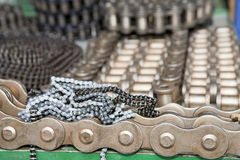 Heap of chains Stock Photography