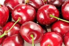 Heap of cherries closeup Stock Images