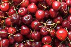 Heap of cherries Royalty Free Stock Images