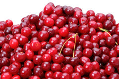 Heap of a cherry Royalty Free Stock Image