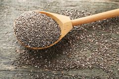 Heap of chia seeds Royalty Free Stock Photography