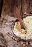 Heap of Chick Pea flour Royalty Free Stock Photo