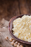 Heap of Chick Pea flour Royalty Free Stock Images