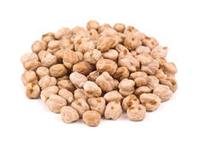 Heap of chickpeas Stock Images