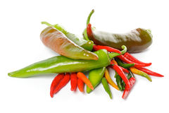 Heap of Chili Peppers Royalty Free Stock Photography