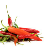 Heap of Chili Peppers Royalty Free Stock Photo
