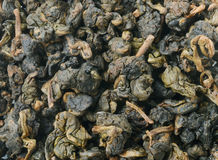 Heap of Chinese green tea Stock Image