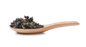Heap of Chinese green tea Royalty Free Stock Photo