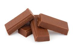Heap of chocolate Stock Photography