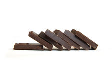 Heap of chocolate Royalty Free Stock Images