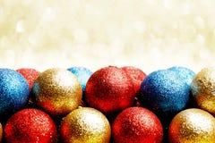 Heap of Christmas balls Stock Photography
