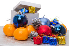 Heap christmas gifts Royalty Free Stock Photo