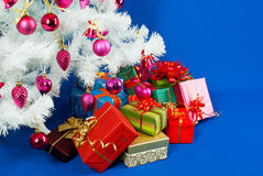 Heap of the Christmas presents Stock Images