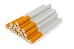 Heap of cigarette Royalty Free Stock Image